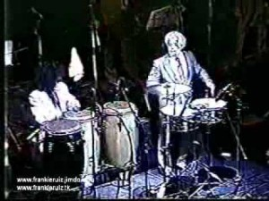 Tito Puente, Sheila E and Pete Escovedo on timbales