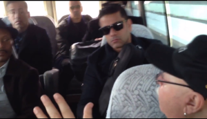 On the bus with Orestes Vilato & Harlow's Latin Legend Band